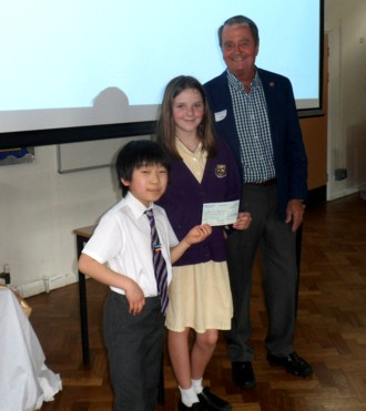 Cuthbert Mayne cheque May2019