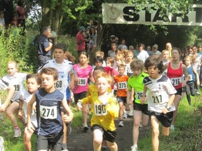 Junior 3K race