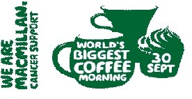 MacMillan coffee morning logo 2016