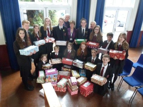 Glebelands shoe boxes 2014