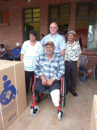 S. Africa wheelchair donation & Nick Vrijland (1)