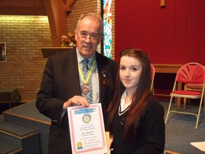 Rotary Young Musician 2013 H Beckwith