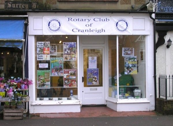 Rotary Club Takes Over Local Shop